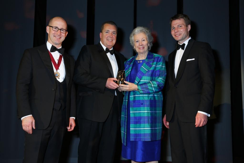 IWSC President Garvin Brown IV, Andy Calder Distell Ltd., Christiane Underberg