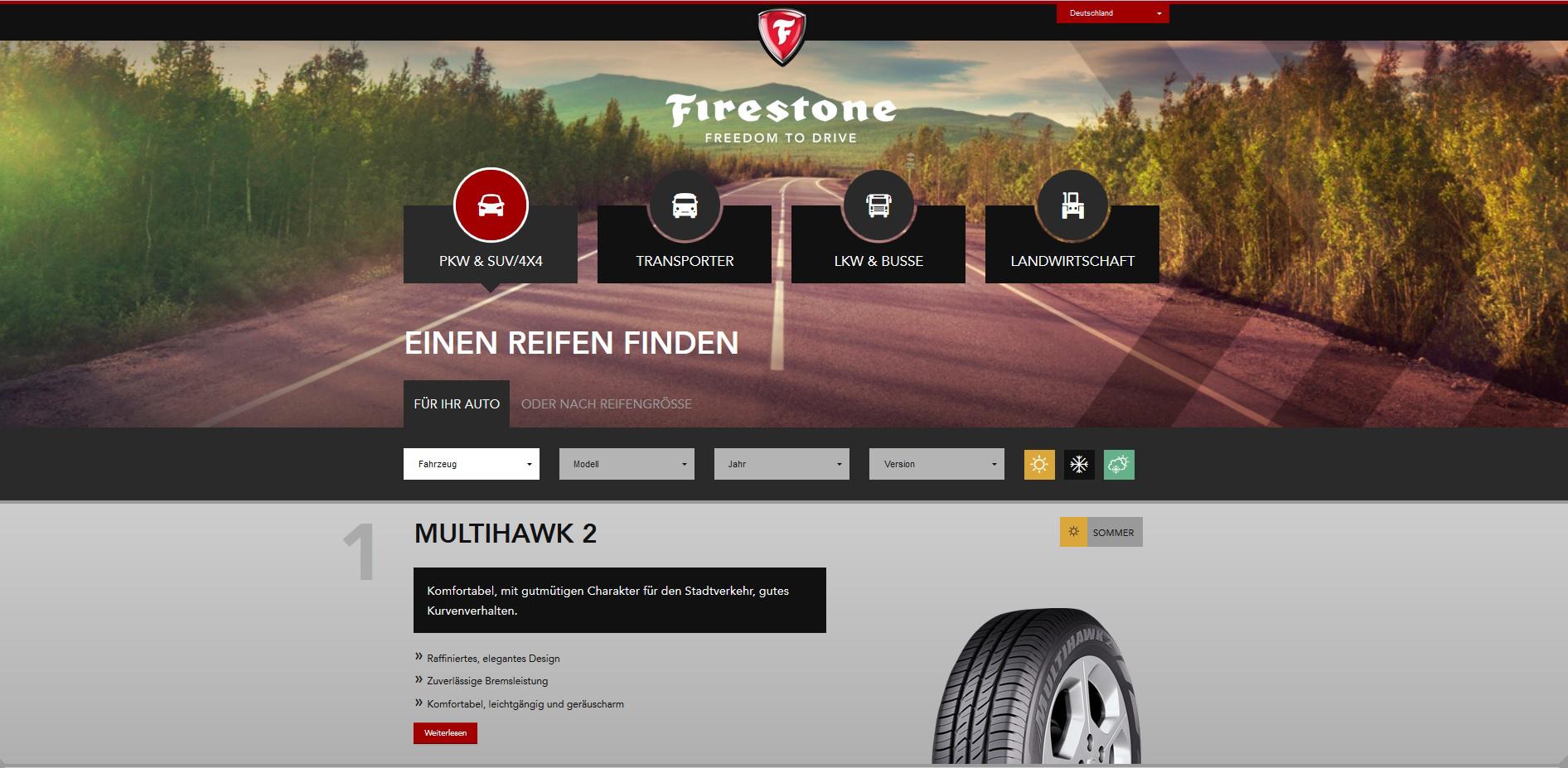 Firestone Website