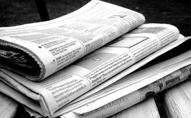 Zeitungen im Wandel der Zeit