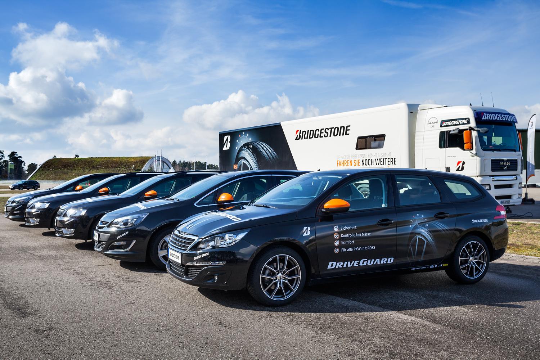 Vorstellung des Bridgestone DriveGuard in Baden-Baden (© N. Kazakov).