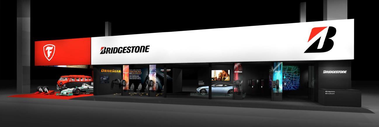 Bridgestone auf dem Autosalon Paris 2016