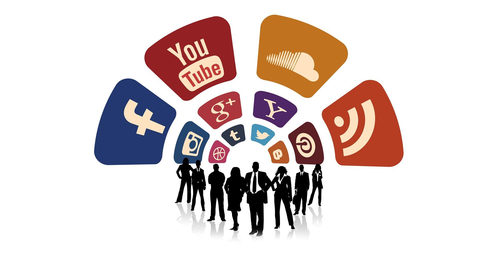 Wachsende Bedeutung von sozialen Netzwerken