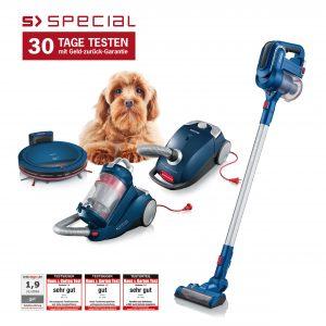 SEVERIN startet eine Floorcare Kampagne mit den Produkten aus der S'Special Serie die sich speziell an Tierhalter und Allergiker richtet.