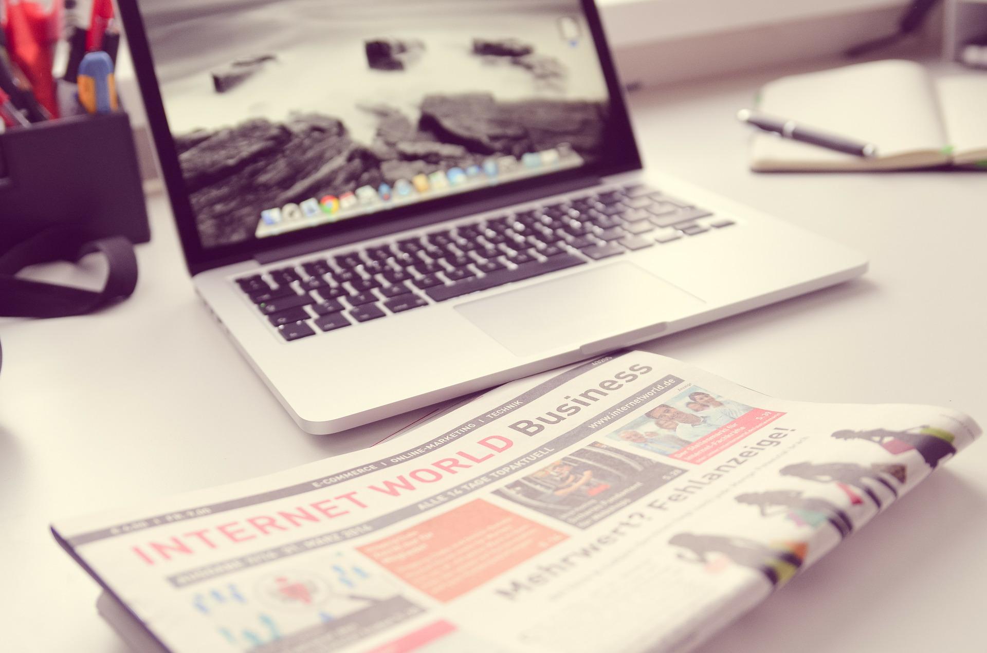 Zeitungsverlag, Social Media