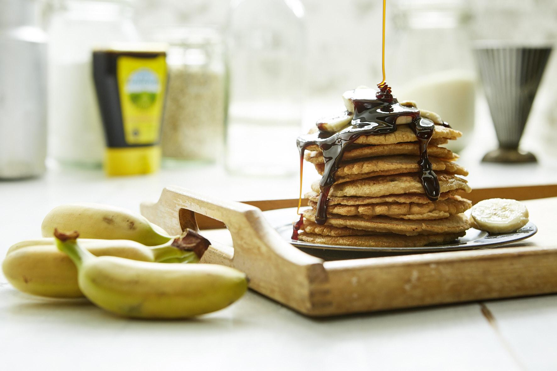 Grafschafter: Veganes Rezept für Pancakes mit Banane