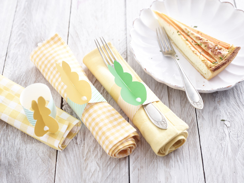 Karotten-Tarte mit Gruyere
