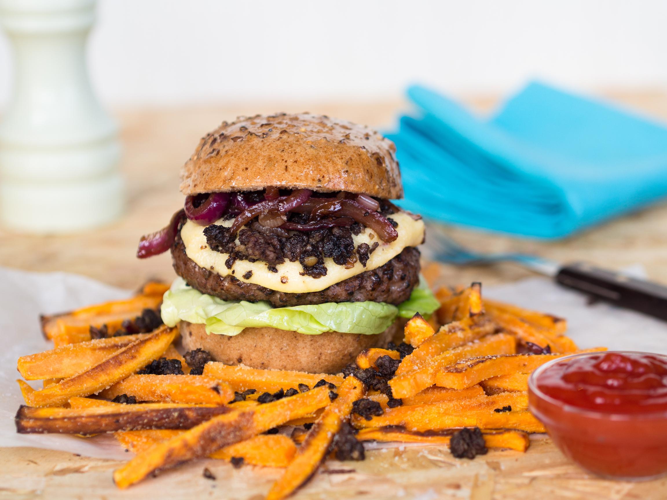 Leckerer Burger - Rezept von Jan-Philipp Cleusters