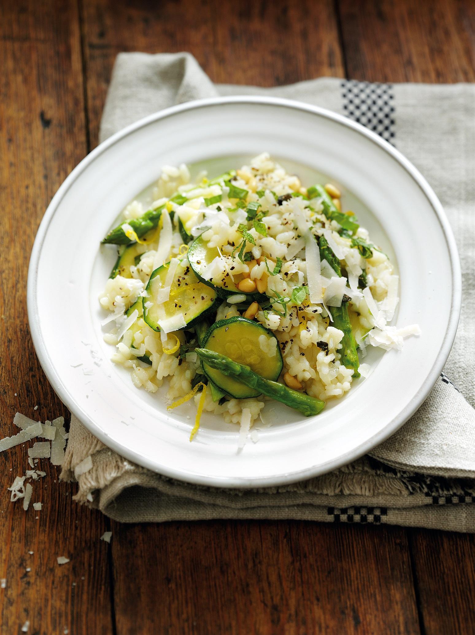 Genius Glutenfrei: Zucchini-Spargel-Risotto