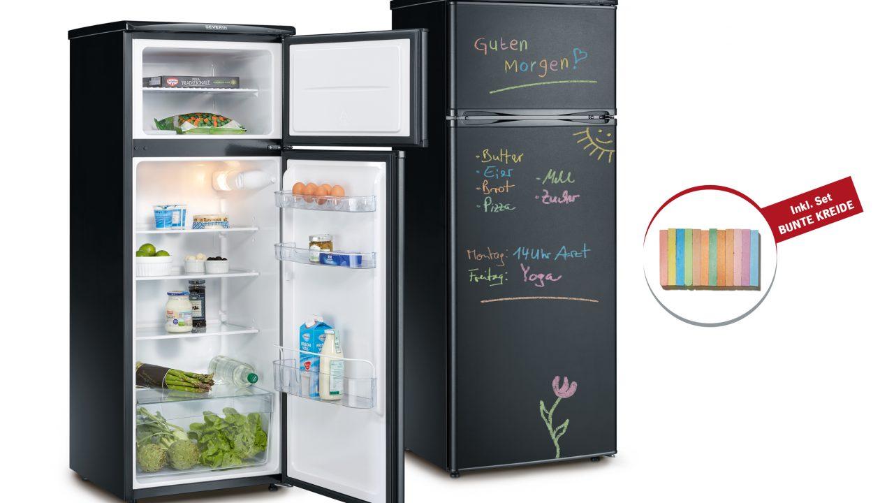 Kühlschrank Schwarz : Severin kühlschrank mit tafeloberfläche