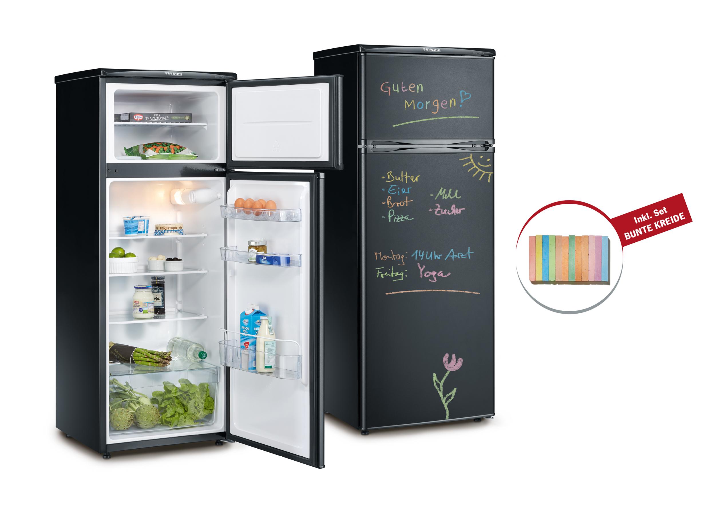 SEVERIN: Kühlschrank mit Tafeloberfläche