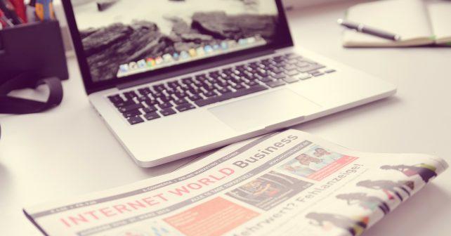 Social-Media-Visits von Tageszeitungen