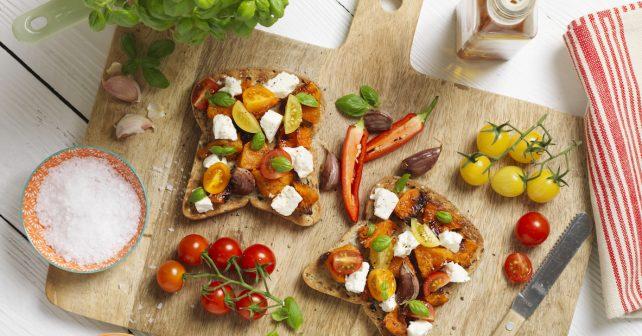 Glutenfreies Kürbis-Sandwich