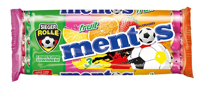 Mentos World Cup Fruit