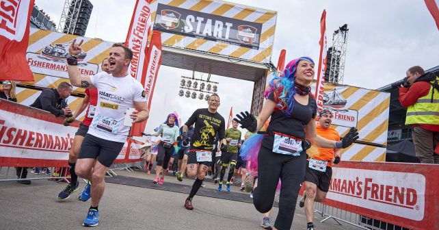 GO BIG beim Fisherman's Friend StrongmanRun am Nürburgring!