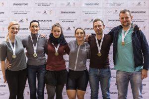 Strahlende Gesichter: Alle Teilnehmer stellten sich in Frankfurt/Oder der Herausforderung.