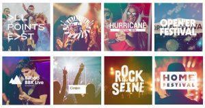 Firestone ist 2018 auf insgesamt acht der angesagtesten Festivals in ganz Europa vertreten.