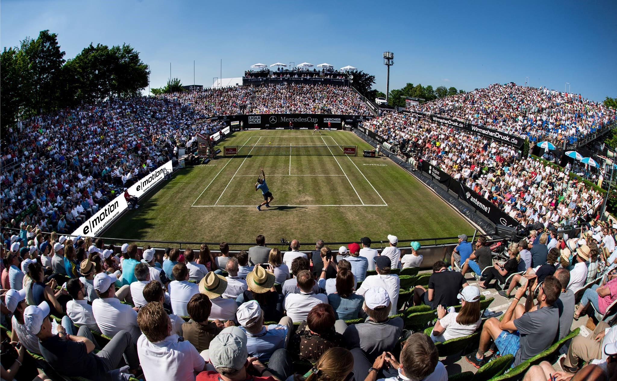 Beim MercedesCup 2018 startet die internationale Tennis-Elite in die neue Rasensaison