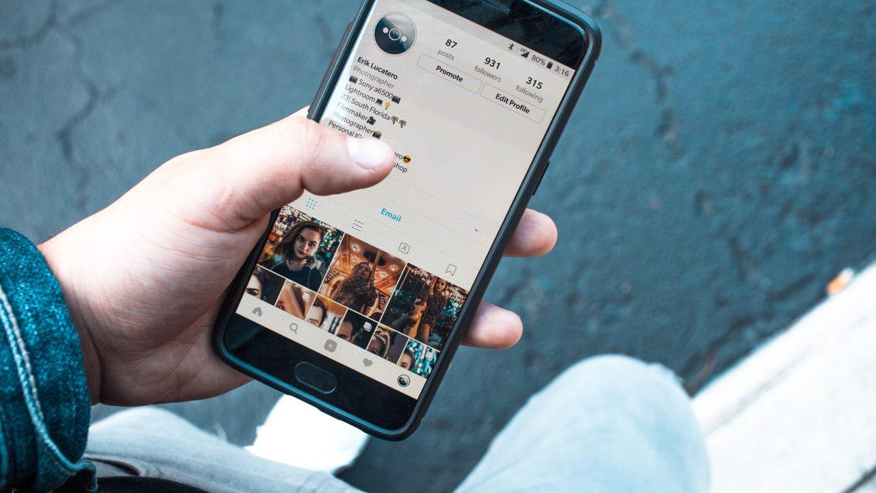 Mit Instagram-Storys back to reality