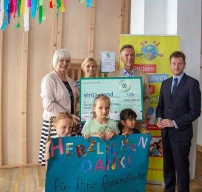 Ministerpräsident Kretschmer zeichnet Kinderhafen - Christliches Kinderwerk e.V. als Landessieger in Sachsen aus