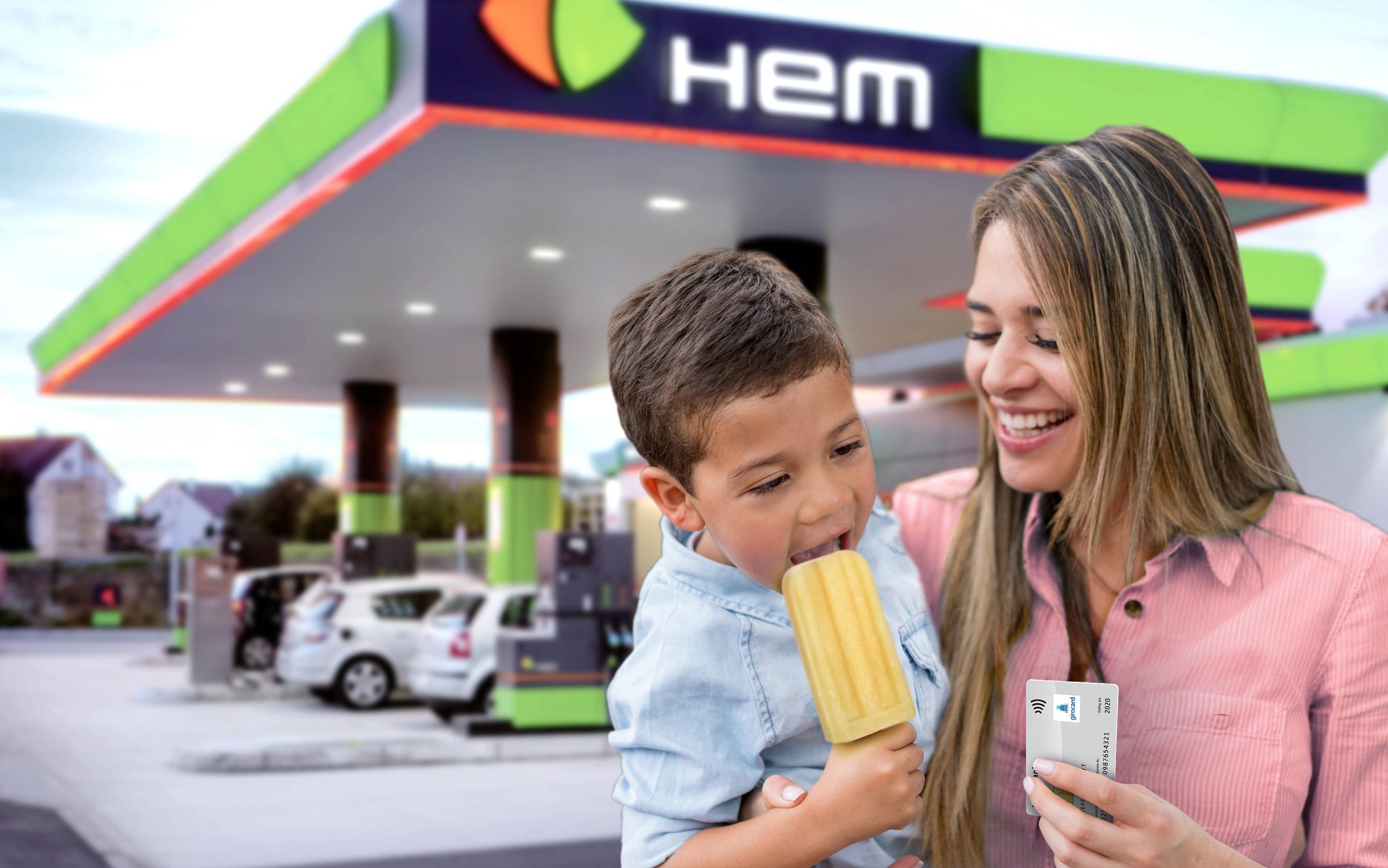 Innovativ und bequem - kontaktloses Bezahlen an HEM Tankstellen