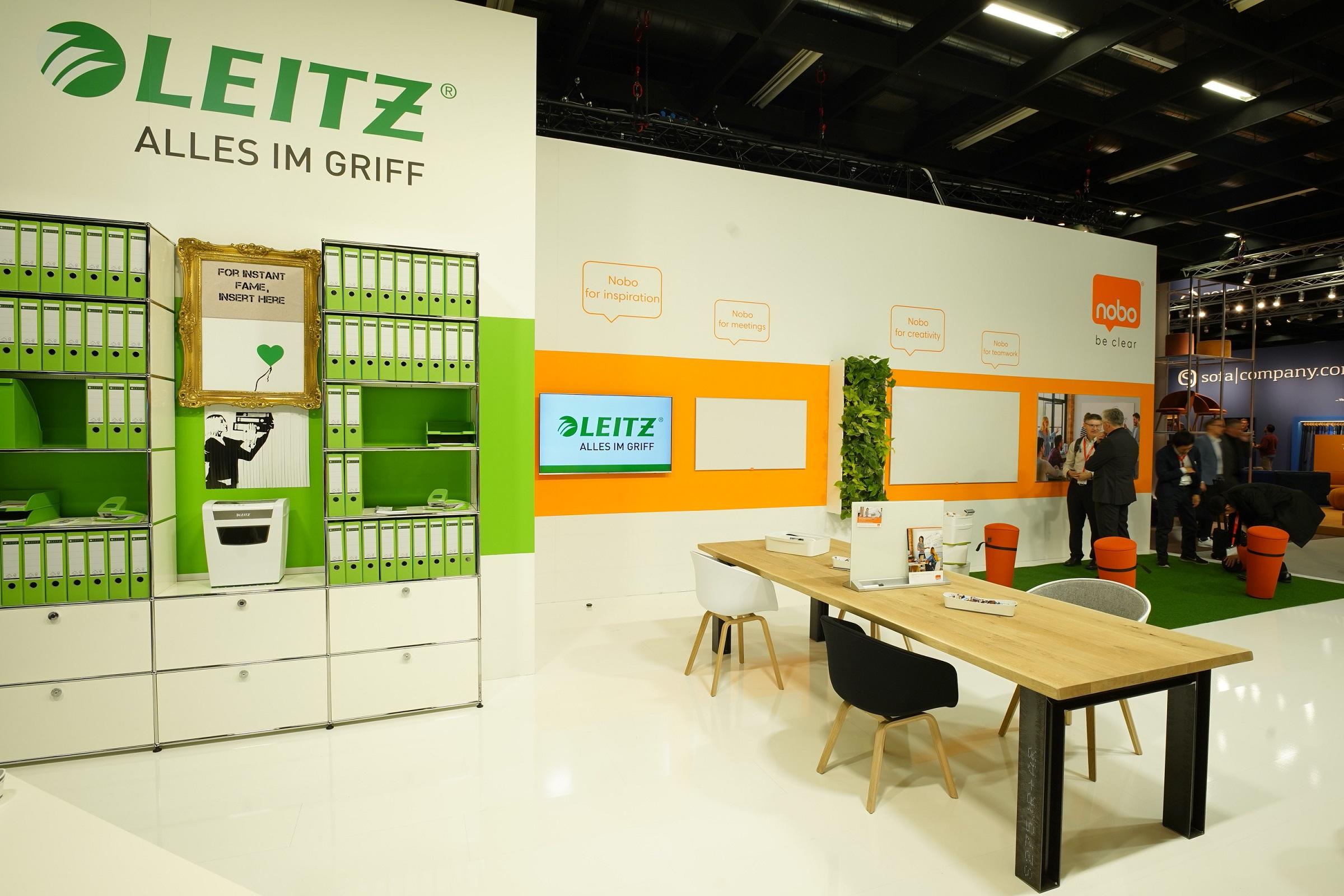 LEITZ ACCO Brands eröffnet Orgatec mit ganz besonderer Inszenierung