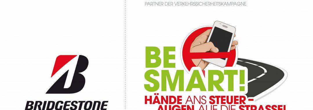 Bridgestone unterstützt Verkehrssicherheitskampagne BE SMART!