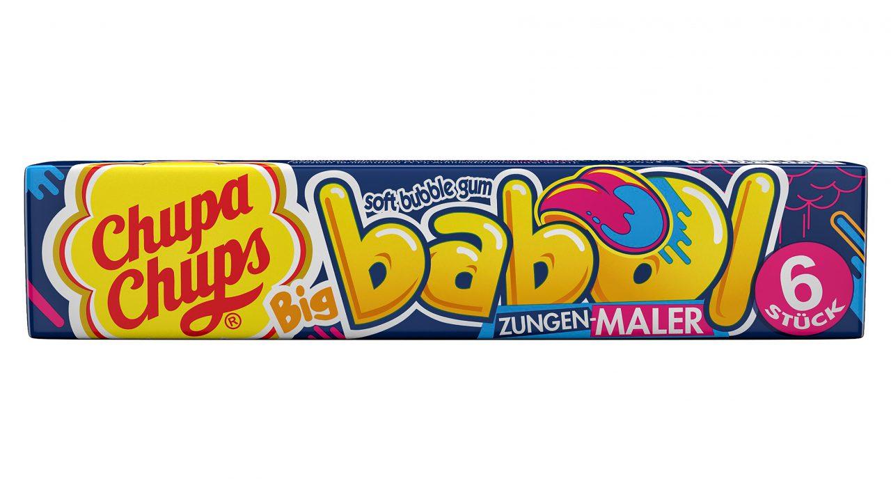 Die Kaugummi-Neuheit von Chupa Chups: Big Babol Zungenmaler bringt Farbe in den Umsatz