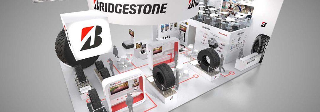 Bridgestone auf der bauma 2019