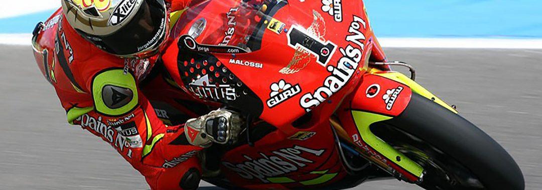 Jorge Lorenzo bestreitet mit Chupa Chups die MotoGP