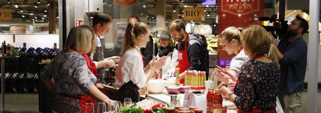 Italienischer Starkoch eine Woche in der Rindermarkthalle