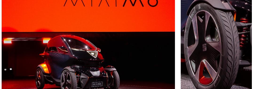 SEAT wählt Bridgestone als Erstausrüster für das neue vollelektrische Konzeptfahrzeug Minimó