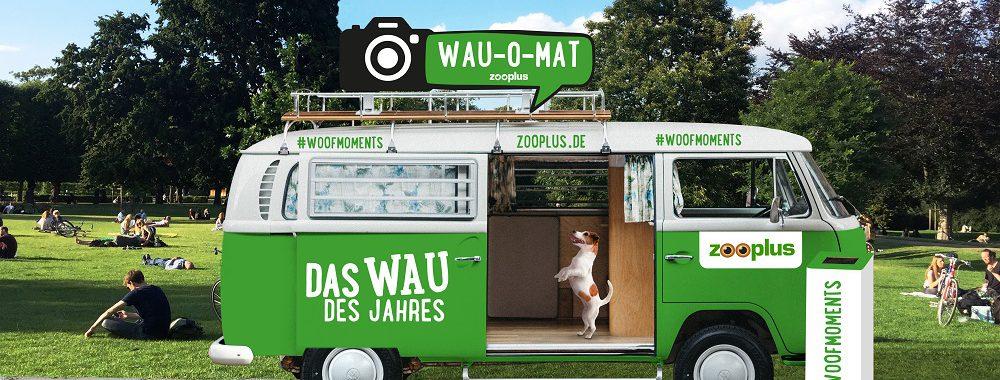 Der WAU-O-MAT - Vier Beine und vier Räder
