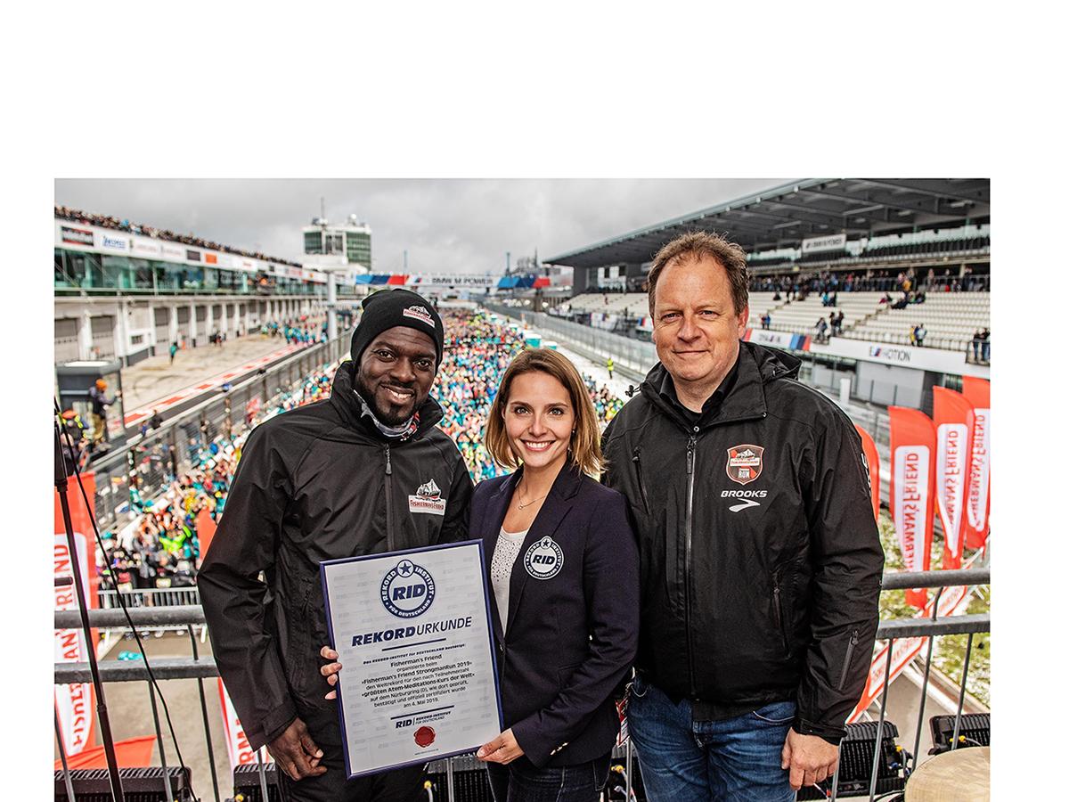 Weltrekord beim diesjährigen Fisherman's Friend StrongmanRun