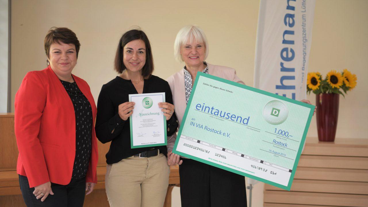 Verleihung des DEICHMANN-Förderpreises für Integration