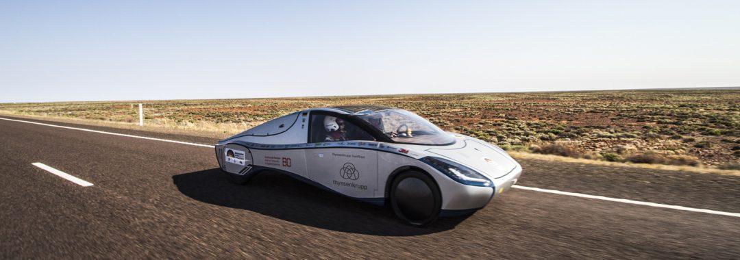 Auftakt für die 15. Bridgestone World Solar Challenge