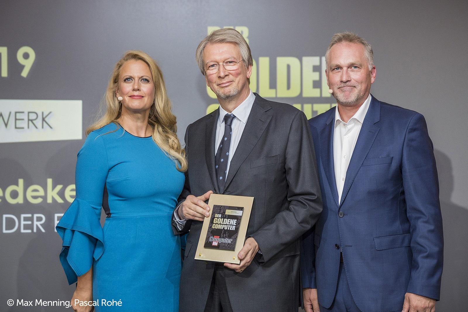 Goldener Computer 2019 für den Gründer von eQ-3