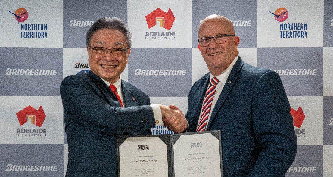 Bridgestone unterstützt die BWSC als Titelsponsor