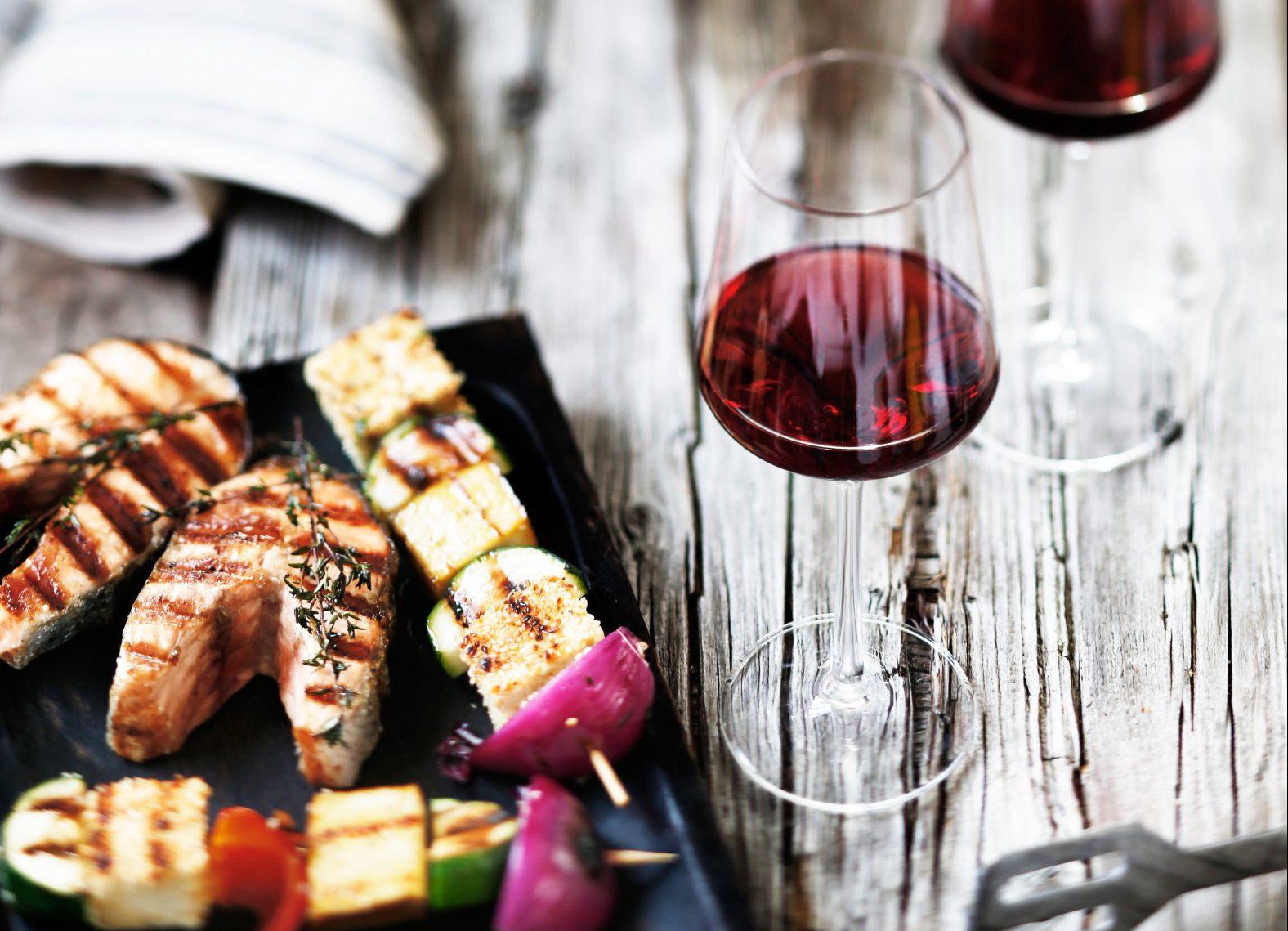 Deutsche Weine zu leckeren Grillgerichten