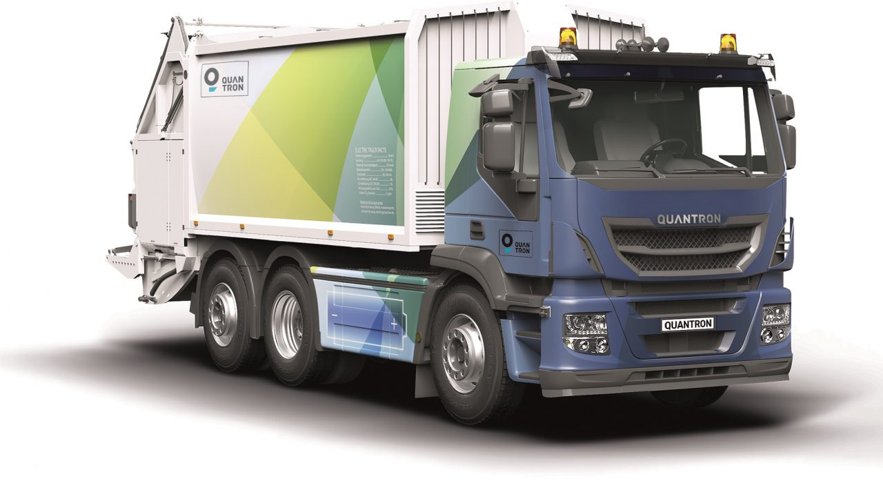 Quantron AG rüstet auf E-Antriebe um
