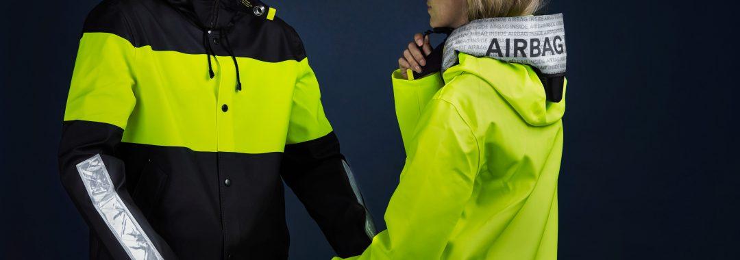 Hövding und Stutterheim kooperieren für sichereres Radfahren auf dunklen Straßen