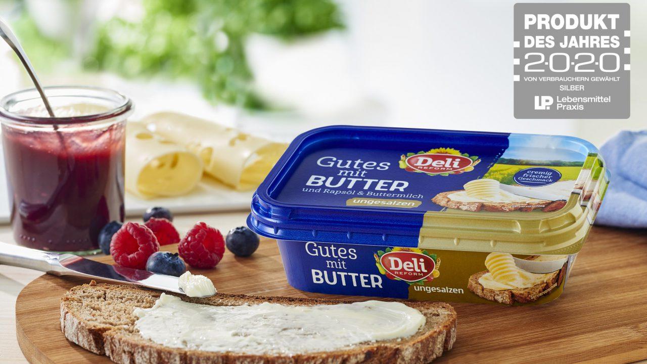 """""""Gutes mit Butter"""" ist Produkt des Jahres"""