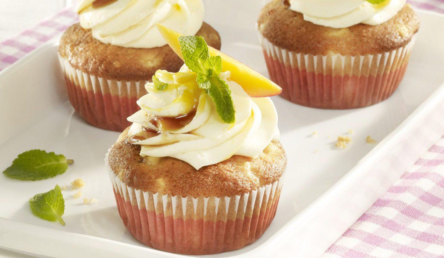 Vegane Sojajoghurt-Cupcakes