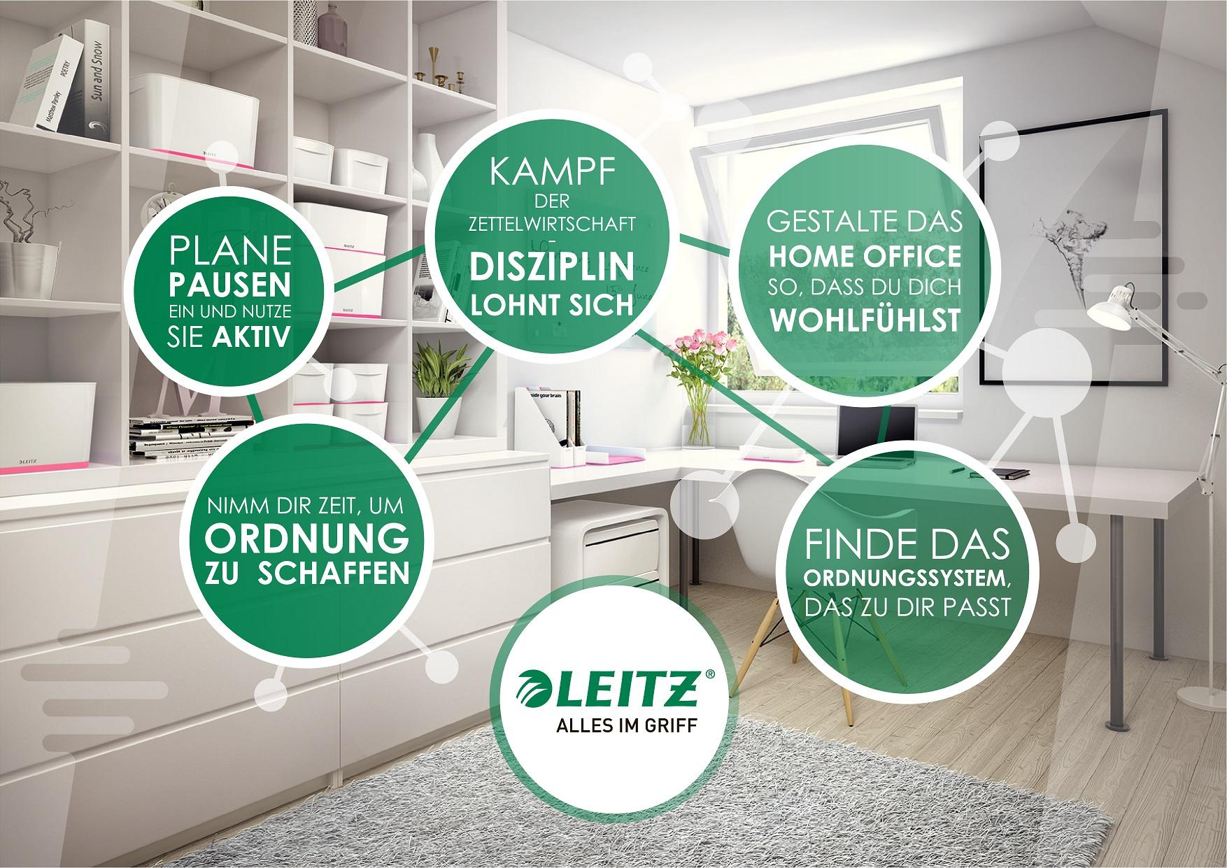 """LEITZ stellt """"Rezepte für Ordnung"""" vor"""
