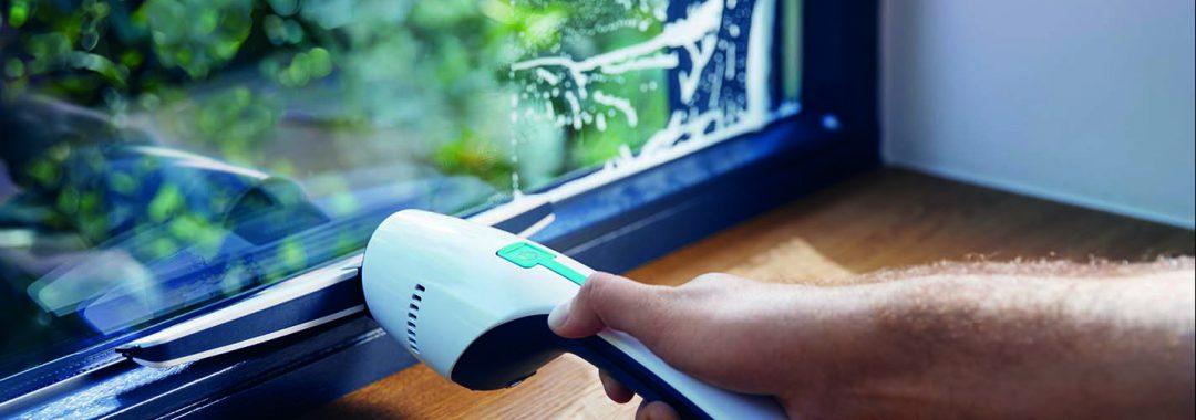 Stimmungsaufheller Saubere Fenster
