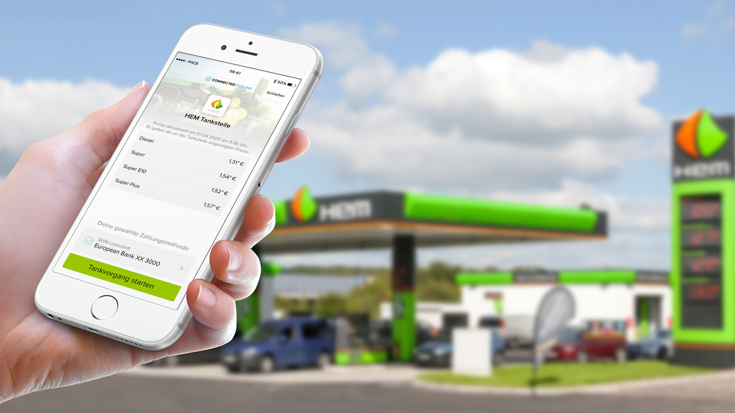 Smart Tanken mit Connected Fueling