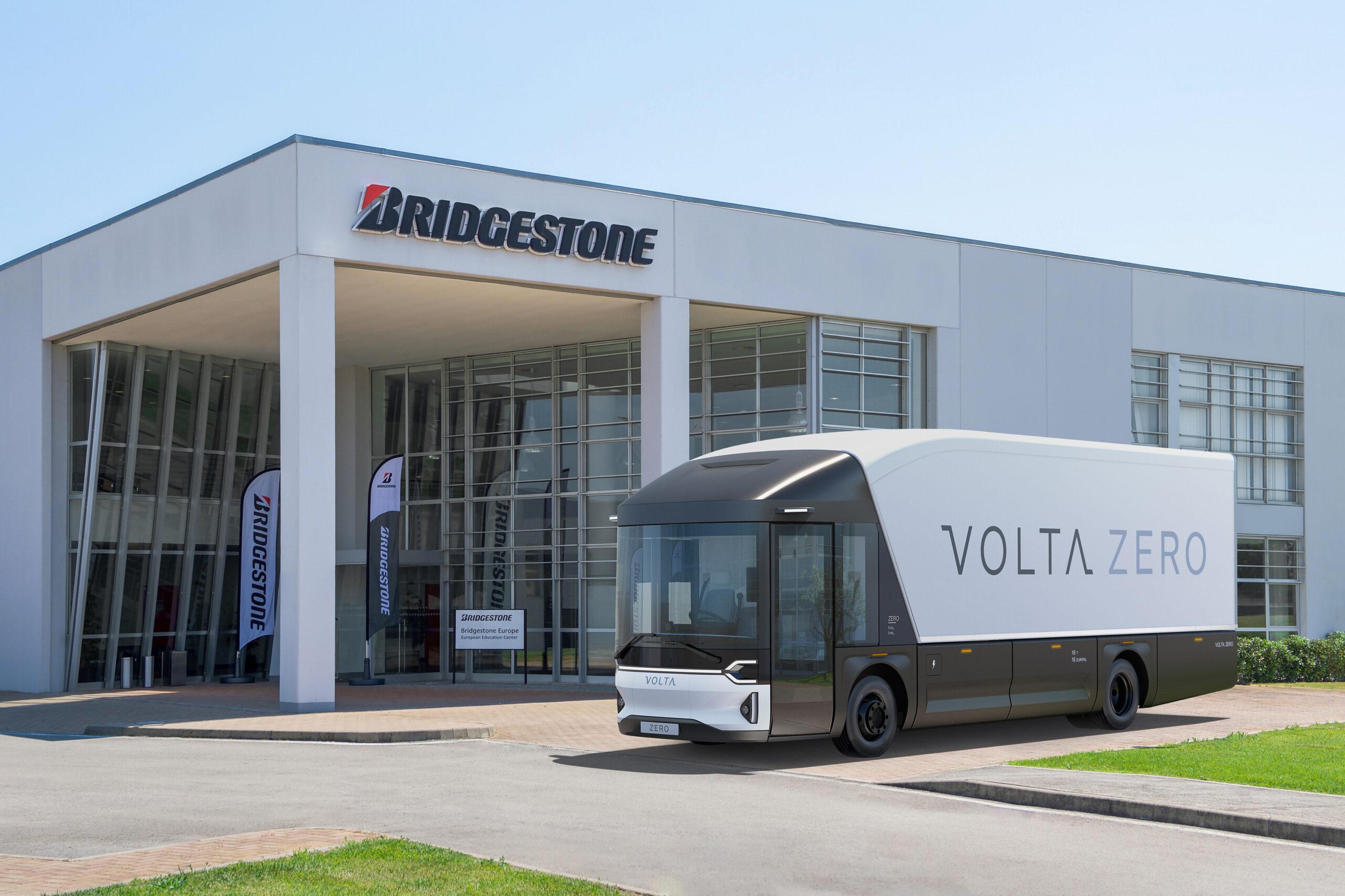 Bridgestone liefert Reifen für Volta Zero Trucks