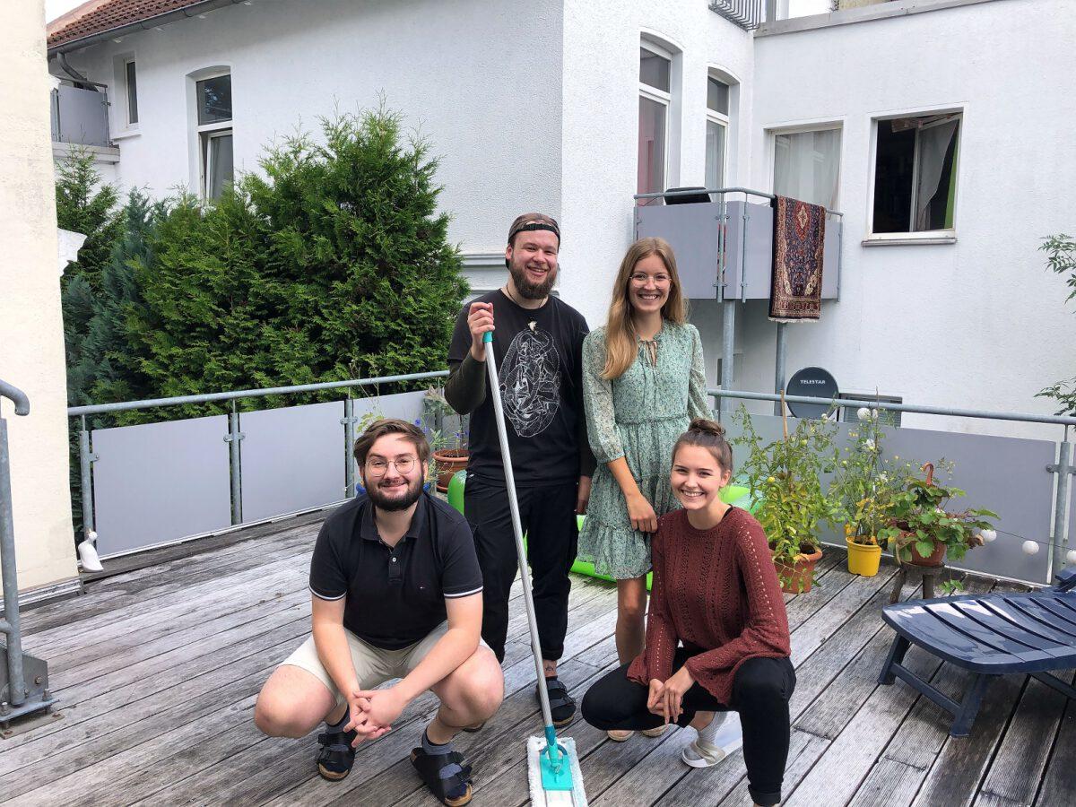 Oldenburger WG ist sauberster Haushalt