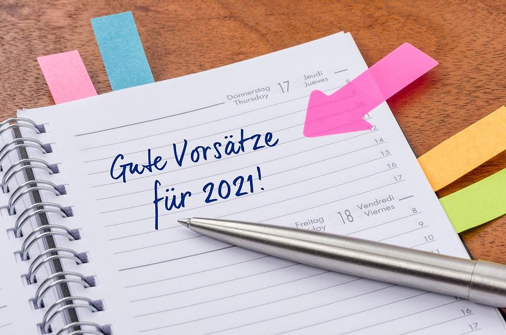 Gute Vorsätze für 2021