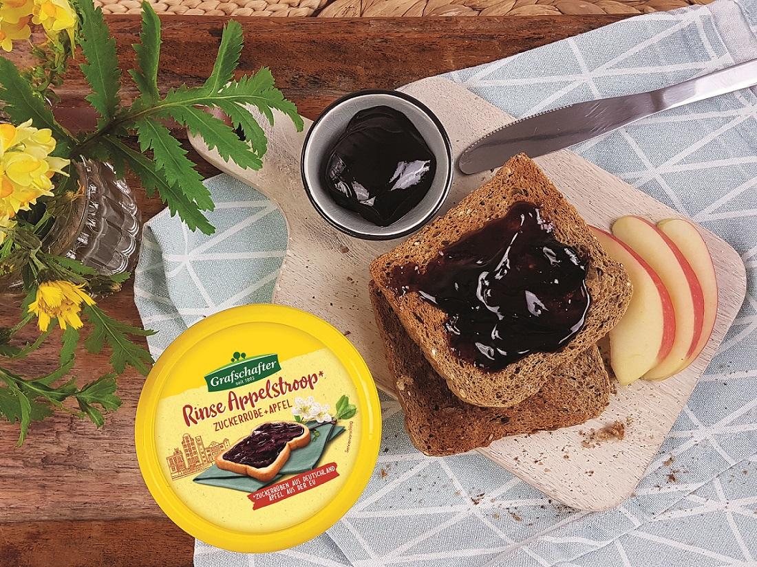 Süsses Bagel-Frühstück