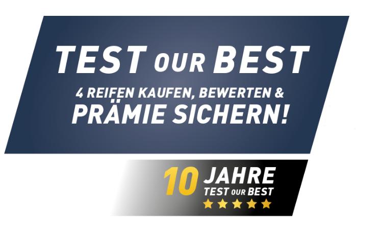 Zehn Jahre Test our Best